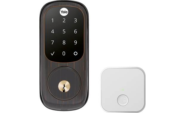 Yale Real Living Assure Lock Touchscreen Deadbolt (YRD226) with Connected by August kit Other