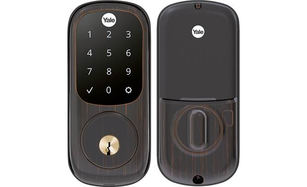Yale Real Living Assure Lock Touchscreen Deadbolt (YRD226) with Connected by August kit Also opens with included keys