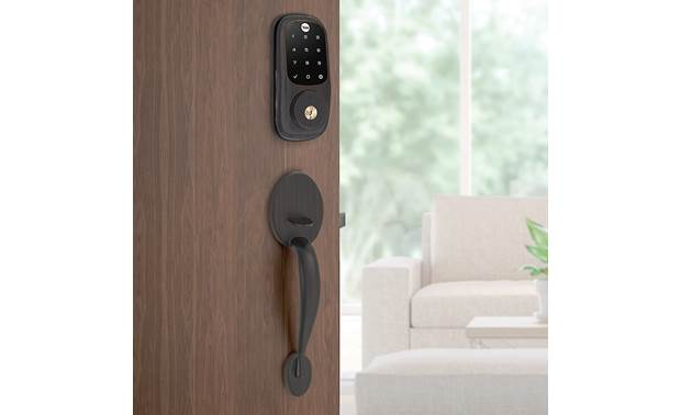 Yale Real Living Assure Lock Touchscreen Deadbolt (YRD226) with Connected by August kit Backlit numbers make it easy to see
