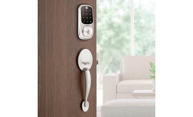 Yale Real Living Assure Lock Touchscreen Deadbolt (YRD226) with Z-Wave® Also opens with included keys