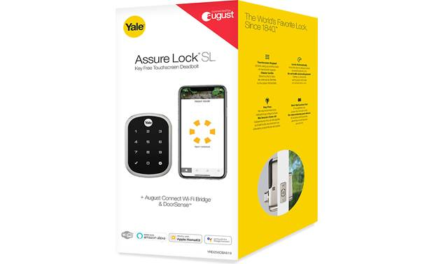 Yale Real Living Assure Lock SL Key-free Touchscreen Deadbolt (YRD256) with Connected by August kit Other