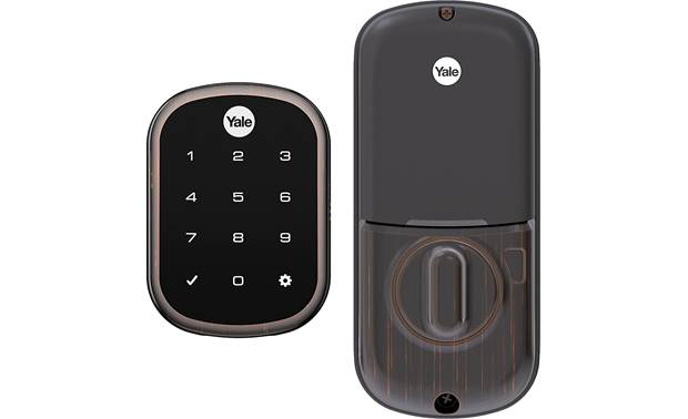 Yale Real Living Assure Lock SL Key-free Touchscreen Deadbolt (YRD256) with Wi-Fi Module Stores up to 250 unique passcodes