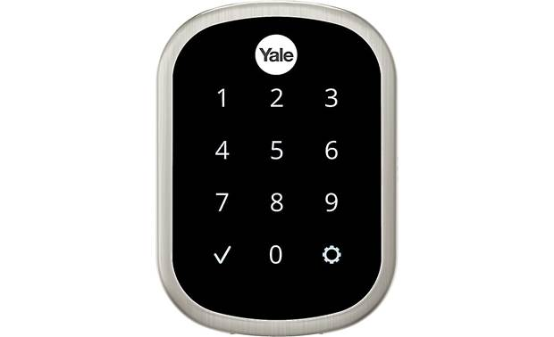 Yale Real Living Assure Lock SL Key-free Touchscreen Deadbolt (YRD256) with Z-Wave® Front