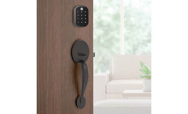 Yale Real Living Assure Lock SL Key-free Touchscreen Deadbolt (YRD256) with Z-Wave® Codes can be created or removed anytime