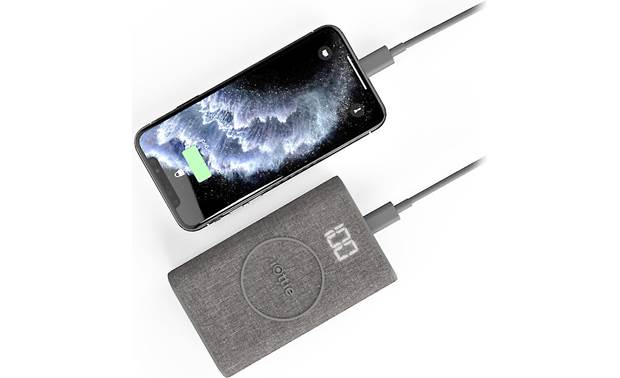 iOttie iON Wireless Go Power Bank USB charging (cable and smarpthone not included)