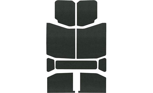 Boom Mat Sound Deadening Headliner Kit Knock out unwanted road and wind noise in your Jeep Wrangler JL