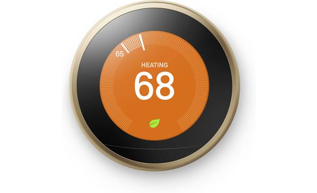 Nest Learning Thermostat, 3rd Generation Farsight technology wakes up your Nest display the second you enter the room