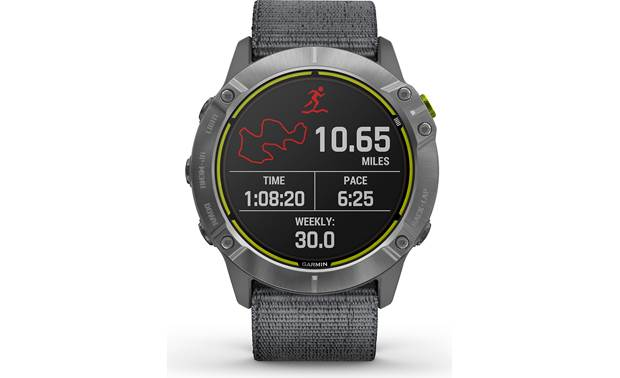 Garmin Enduro Run tracking