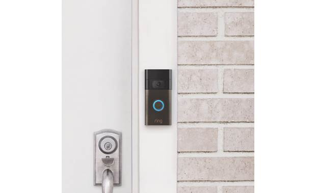 Ring Video Doorbell (2020 Release) Slim design fits in almost anywhere
