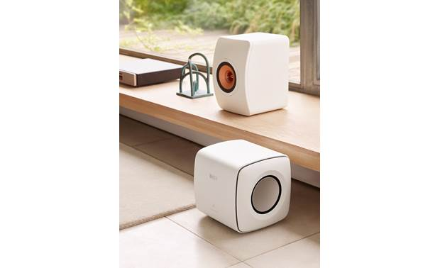 KEF KC62 Compact, minimalist design matches most rooms