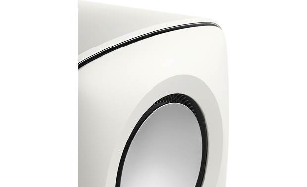 KEF KC62 Pleated origami-inspired surround gives you accurate, detailed bass