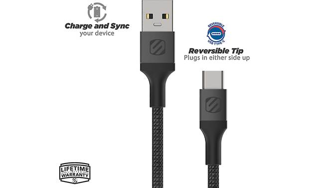 Scosche StrikeLine™ USB-A to USB-C Cable Other