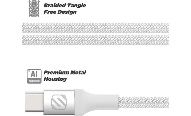 Scosche StrikeLine™ USB-C to Lightning® Cable Other