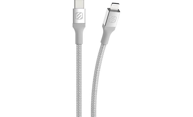 Scosche StrikeLine™ USB-C to Lightning® Cable Front