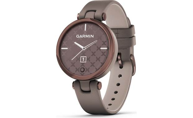 Garmin Lily Lily sports an attractive patterned background