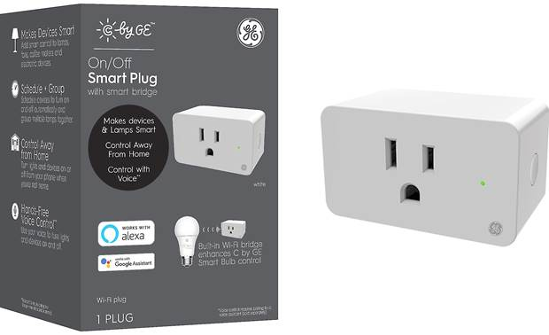 C by GE On/Off Plug Front