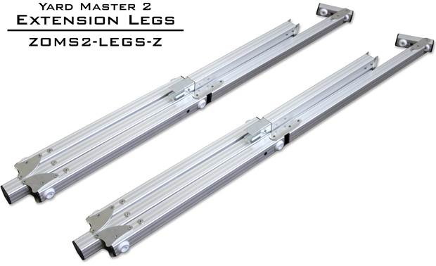Elite Screens ZOMS2-LEGS-Z Lightweight aluminum square tube construction