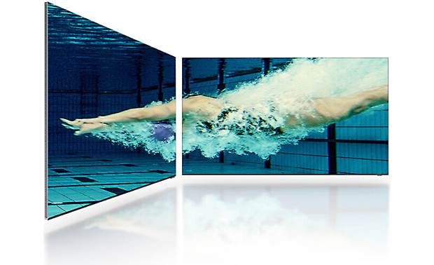 Samsung QN65QN900A Panel reduces glare and is designed to be viewed from any angle
