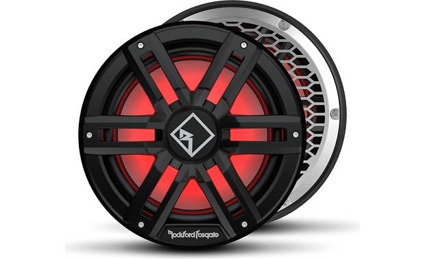 Rockford Fosgate M2D4-12IB Choose your look with multiple colors and two included grilles