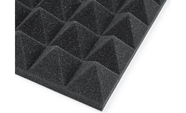 Gator Frameworks Acoustic Treatment Pack 3D pyramid design absorbs unwanted room noise