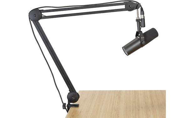 Gator Frameworks Desktop Mic Boom Stand Stand makes getting your mic in the right position simple