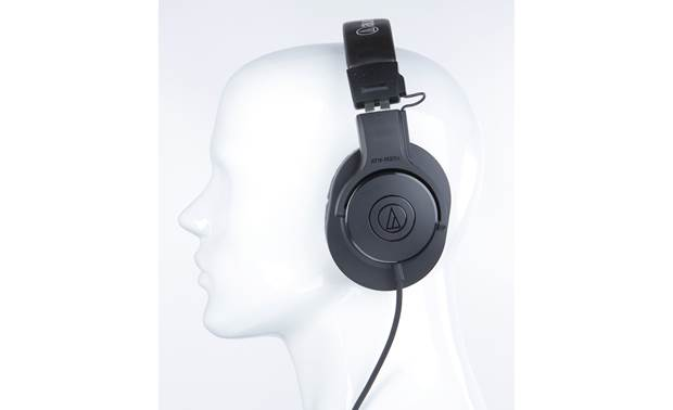 Audio-Technica ATH-M20x Mannequin shown for fit and scale
