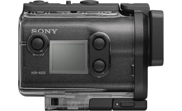 Sony HDR-AS50R Side
