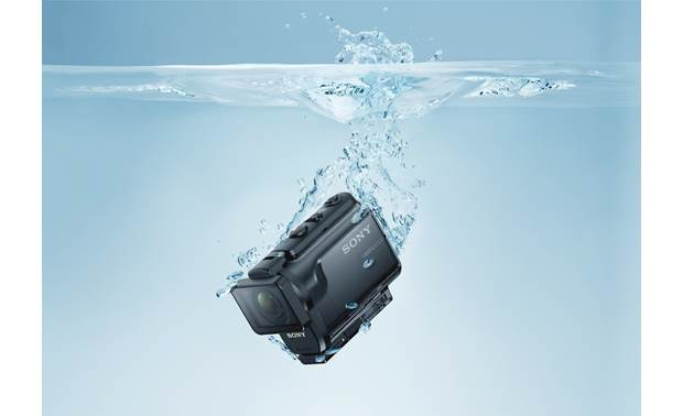 Sony HDR-AS50R Waterproof to 197 feet with included housing