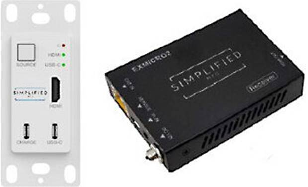 Simplified MFG TXIWKT Included in-wall transmitter and surface-mount receiver