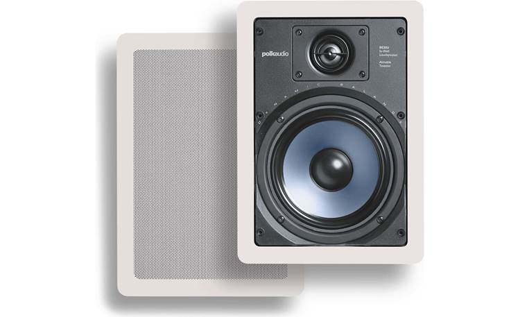 Vail Amp and In-Wall Speaker Package Included Polk Audio RC65i in-wall speakers