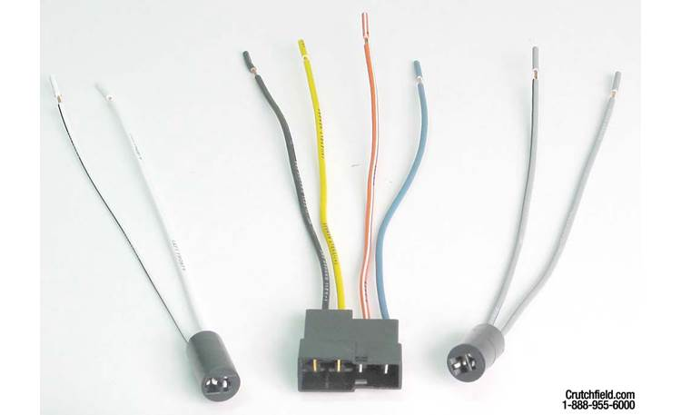 Metra 70-1618 Receiver Wiring Harness Front