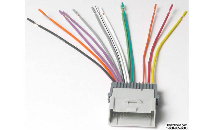 Metra 70-2003 Receiver Wiring Harness Front