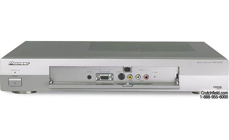 Pioneer PDP-4330HD Media box - front panel