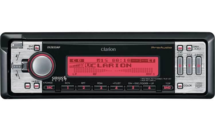 Clarion ProAudio DXZ655MP CD receiver with MP3 / WMA playback at CrutchfieldCrutchfield