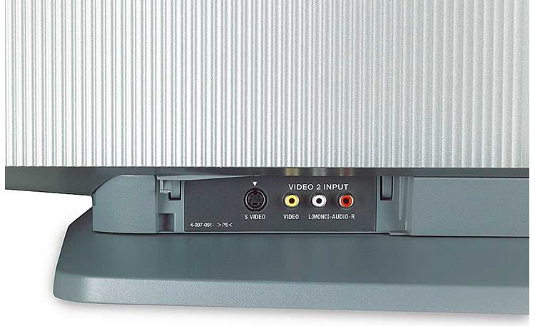 Sony KDF-50WE655 Front-panel <BR>A/V input