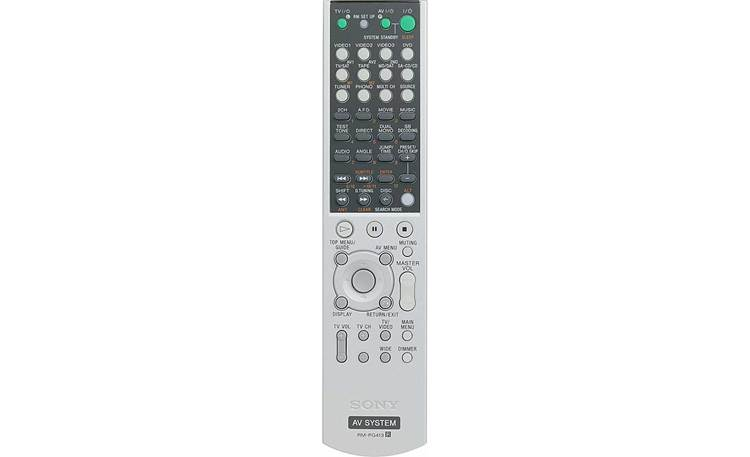 Sony STR-DE897 Remote