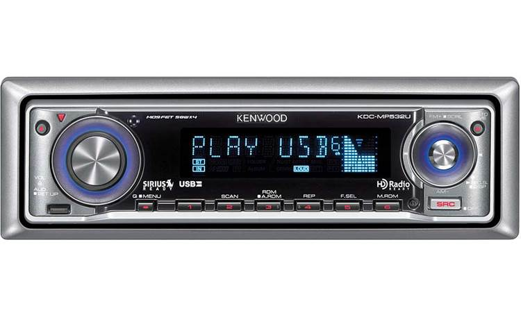Kenwood KDC-MP532U Front