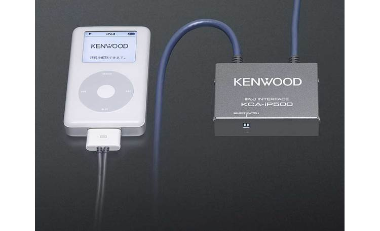 Kenwood KCA-iP500 iPod® Control Interface iPod connected