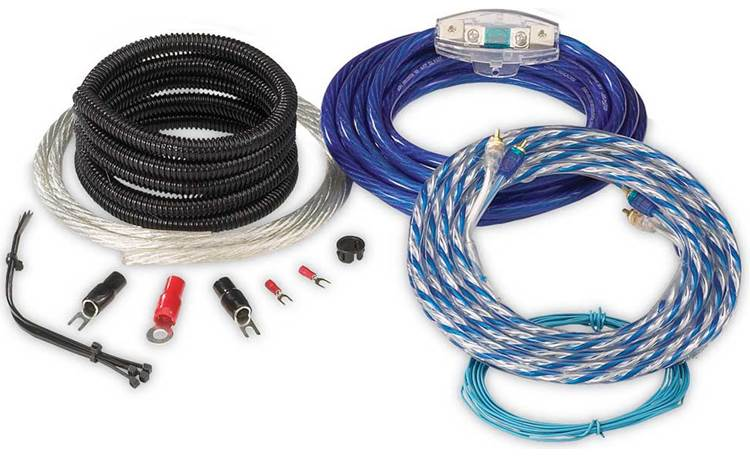 EFX 4-gauge Amplifier Wiring Kit Front