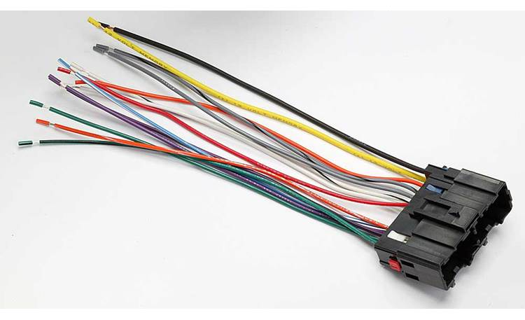 Metra 70-2202 Receiver Wiring Harness Connect a new car stereo in select  2006-07 Saturn vehicles at Crutchfield | Receiver Wiring Harness Saturn |  | Crutchfield