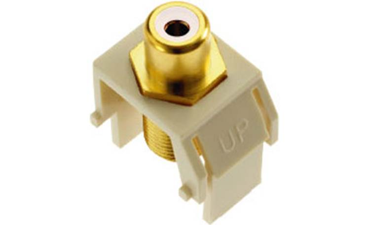 On-Q RCA to F-Type Keystone Connector White