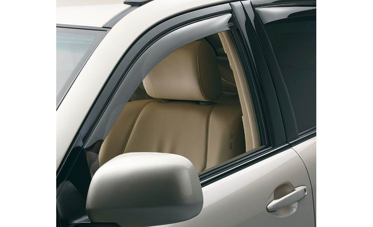 WeatherTech Side Window Deflectors Set of front and rear window deflectors