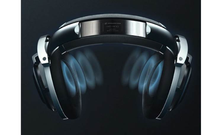 Sennheiser HD 800 Angled sound waves