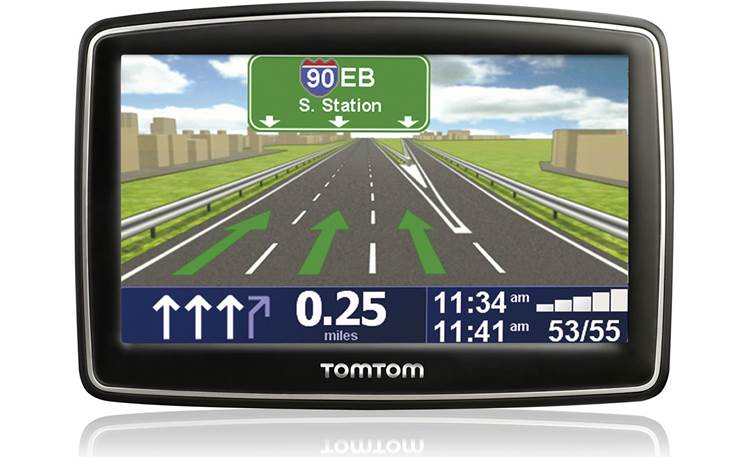 Tomtom Xl 340 M Portable Navigator With Lifetime Maps At Crutchfield