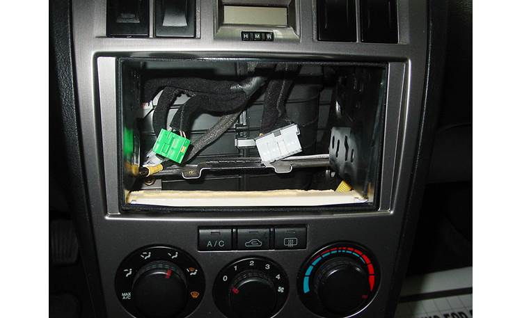 Metra 95-7313 Dash Kit Kit installed