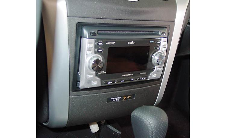 Metra 99-7426 Dash Kit Kit installed with double-DIN car stereo (sold separately)