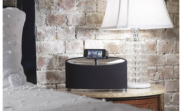 Bowers & Wilkins Zeppelin Mini On table (iPod touch not included)