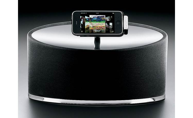 Bowers & Wilkins Zeppelin Mini Horizontal iPod orientation (iPod touch not included)