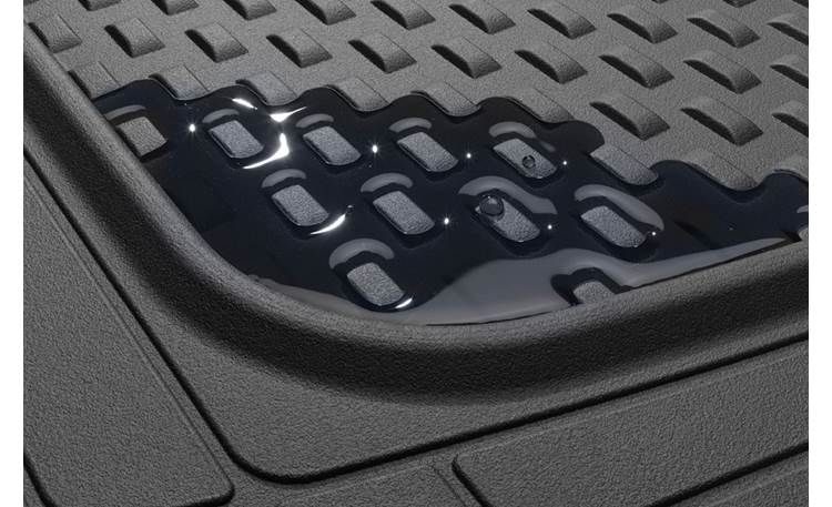 WeatherTech AVM™ Floor Mats Raised ridges control moisture