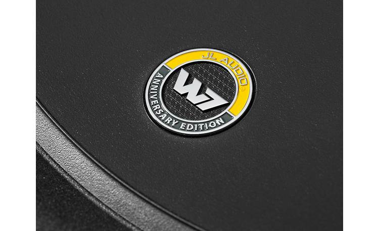 JL Audio 12W7AE-3 Anniversary Edition Badge